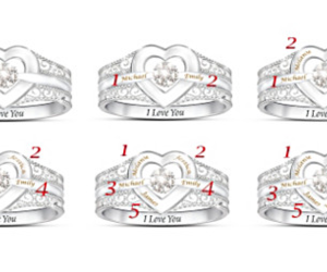 personalized mothers ring image