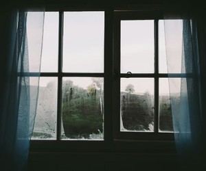 window and bed image