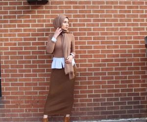 pencil skirt hijab outfit image