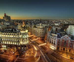 madrid, city, and spain image