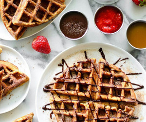 food, chocolate, and breakfast image