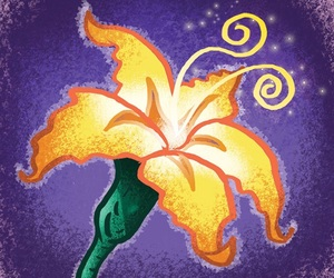 disney, flower, and tangled image