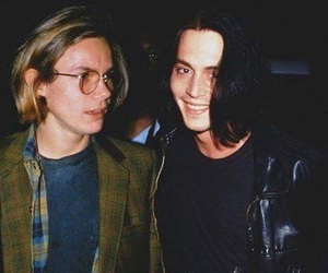 river phoenix and johnny depp image