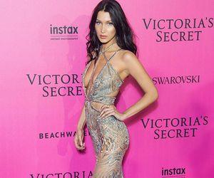 bella hadid, model, and victoria secret image
