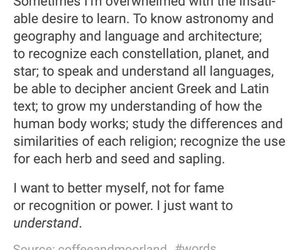 beautiful, learning, and tumblr post image