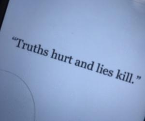 hurt, kill, and truth image