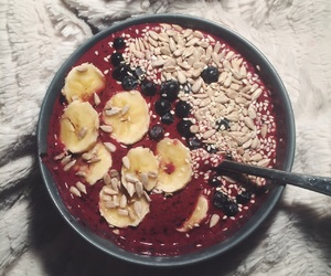berries, healthy, and smoothie image