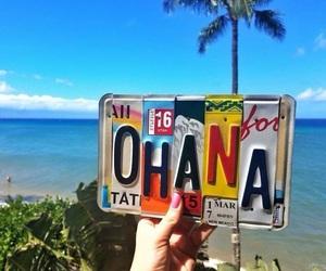 summer, beach, and ohana image