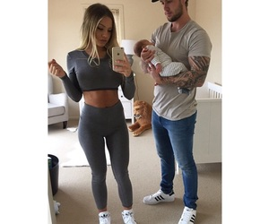 cute, reece hawkins, and family goals image