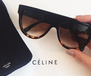 sunglasses, celine, and luxury image