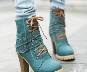 blue boots image