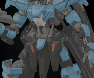 gundam, tech, and mobile suit image