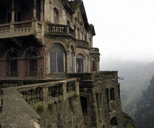 abandoned and mountains image