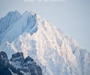 mountains, god, and quotes image