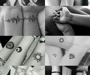 ideias, tatoo, and friends image