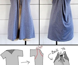 diy, clothes, and shirt image