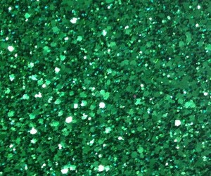 green, glitter, and wallpaper image