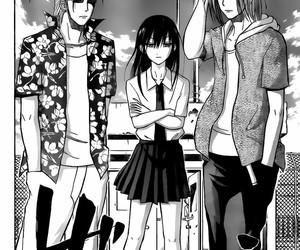 anime, aoi, and manga image