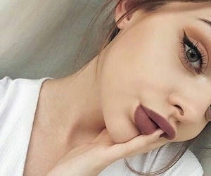 eyes, fashion, and makeup image