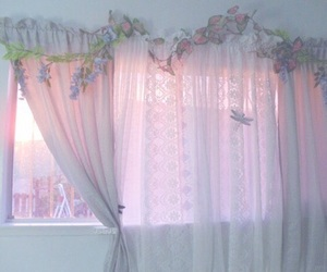 aesthetic, pink, and pale image