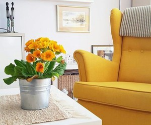 home, yelow, and inspiration image