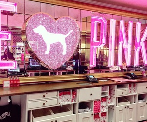 girly, pink, and victorias secret image