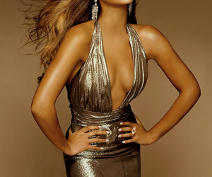 beyonce knowles, golden, and dress image