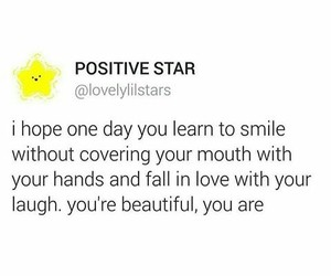 confidence, positivity, and smile image