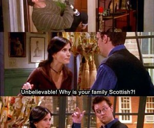 ross, serie, and chandler image
