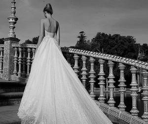 beautiful, wedding, and weddingdress image