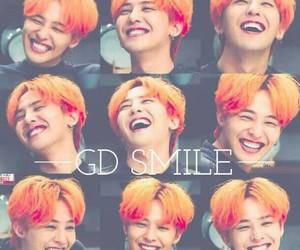 smile, gd, and g-dragon image