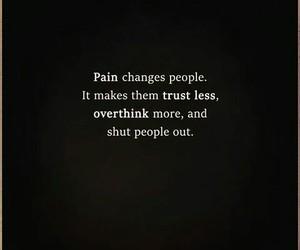 change, life, and pain image