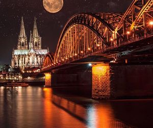bridge, cologne, and germany image