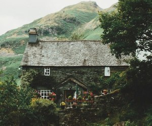 house, nature, and photography image