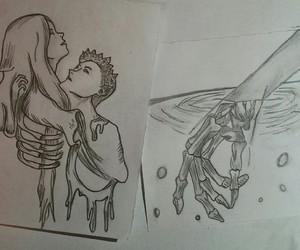 arm, art, and girl image
