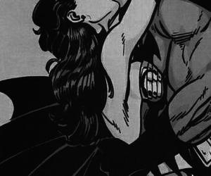 batman, kiss, and wonder woman image
