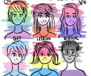 bisexual, lgbt, and gays image