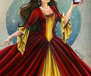 disney, art, and belle image