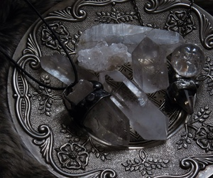 crystal, magic, and silver image