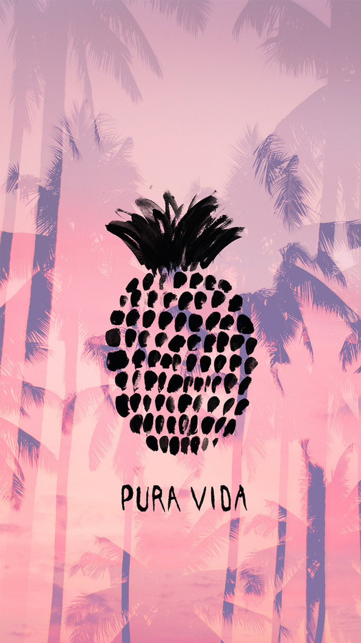 Pura Vida Summer Pineapple iPhone 6