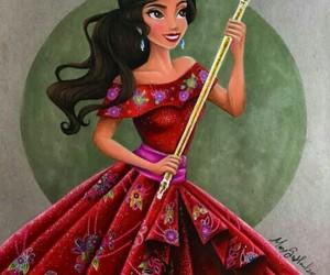 princess, art, and elena of avalor image