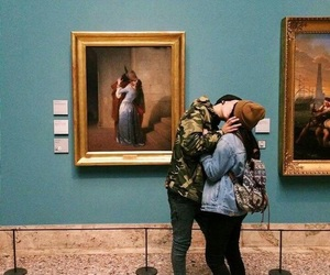 love, kiss, and art image