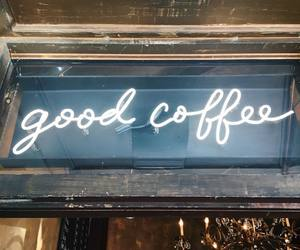 coffee and neon image