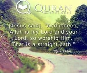 islam, verse, and jesus image