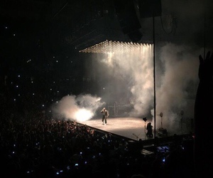 concert, black, and tumblr image