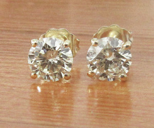 etsy, jewellery, and small stud earrings image