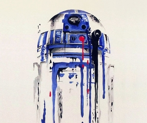 minimal, r2d2, and painting image