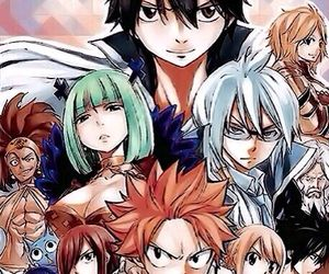 fairy tail, Lucy, and manga image
