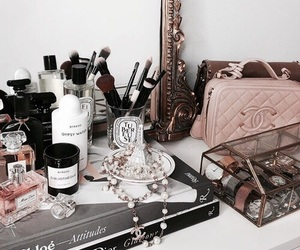 make up, accessories, and chanel image