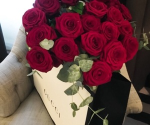 rose, flowers, and gucci image